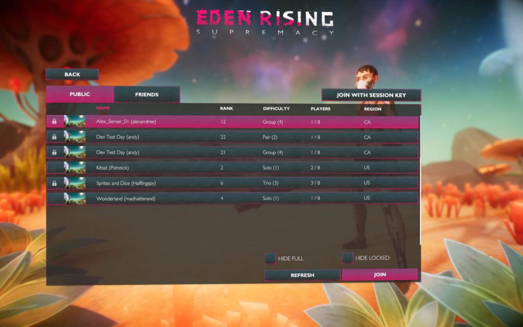 Server Hosting Guide - Eden Rising